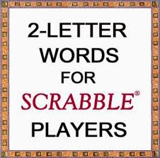 two letter scrabble words a to z inside two letter words with z