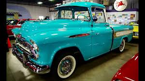 All Chevy chevy apache 1957 : 1957 Chevrolet Cameo Pickup 283 V8 4 BBL Four-Speed - YouTube