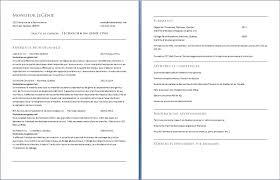 Exemple De Cv Info Page 3 Exemples Et Mod Les Gratuits