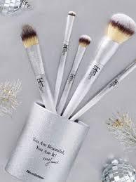 ulta makeup silver brushes