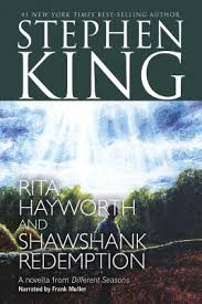 rita hayworth and shawshank redemption audio cassette unabridged  rita hayworth and shawshank redemption audio cassette unabridged stephen king frank muller narrator audio cassette 1556904320 book reviews