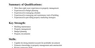 Assistant Property Manager Resume Summary Assistant Property Manager