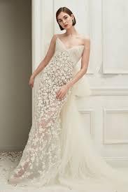 Oscar De La Renta Designer Wedding Dresses Oscar De La Renta Bridal Fall 2019 Fashion Show Wedding