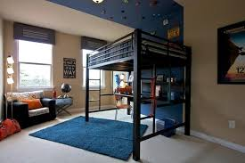 loft bed lighting. view in gallery a bunk bed to maximize the space loft lighting e