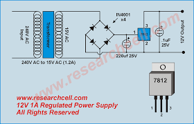 voltage regulator circuit voltage regulator circuit diagram