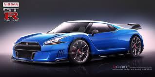 nissan skyline 2015 blue. Contemporary Nissan Nissan GTR R36 Concept Blue By Rookiejeno  Intended Skyline 2015 Blue B
