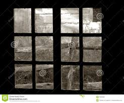 Old Window Old Garden View Through An Old Window Royalty Free Stock Photos
