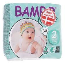 <b>Подгузники Bambo Nature</b> Mini (3-6 кг), 30 шт. (1195177) - Купить ...