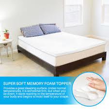 memory foam mattress topper queen. Simple Foam Advanced Sleep Solutions Queen Memory Foam Mattress Topper  Our 2 Inch  On C