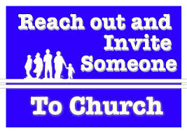 Image result for invite a friend to church