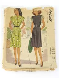 Mcalls Patterns Unique Womens Vintage 48s McCalls Patterns at RustyZipperCom Vintage Clothing