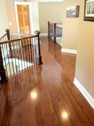 Red Oak with Warm Walnut Stain - traditional - wood flooring - other metro  - by
