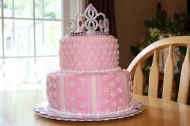 Simple Pink Princess Cake Cake By Michelle Cakesdecor
