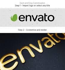 Gold Mockup Kit - Glossy Logo & Titles on Behance