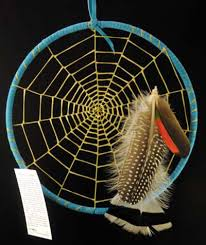 Make Native American Dream Catchers Tom Gray Elk Rael Native American Artist Profile DreamCatcher 28