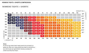 Asics Shoe Size Chart Uk Sizing Charts