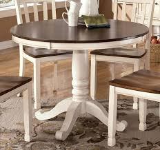 beautiful white round kitchen table white round kitchen table kitchens design