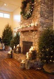 stone tile fireplace featured