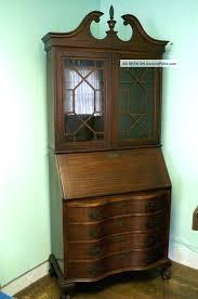 secretary cabinet desk antique secretary desk with bookcase best ideas of antique secretary desk with bookcase