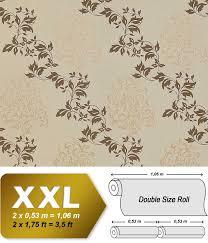 Barok Behang Edem 946 25 Goud Bruin Zware Kwaliteit Vlies Behang