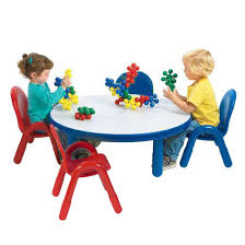 ab74912-baseline-toddler-table-chair-set-36-round Angeles Baseline Toddler Table \u0026 Chair Set (36\