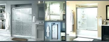 delta sliding shower doors semi contemporary door in installation