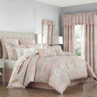 What size is a queen comforter Bedding Sets Sloane Queen Comforter Set In Blush Bed Bath Beyond Buy Queen Size Comforters Bed Bath Beyond