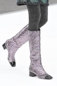 chanel glitter boots. gettyimages-649224778.jpg chanel glitter boots u