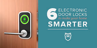 electronic front door lock6 Electronic Door Locks to Enhance Your Homes Security  SafeWise