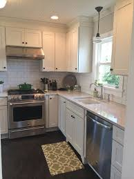 kitchens with white shaker cabinets lovely painted style kit