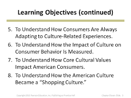 influence of culture on consumer behavior ppt video online 3 learning objectives