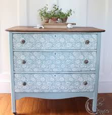 chalk paint furniture picturesFleur Chalk Paint Dresser Before  After  Finding Silver Pennies