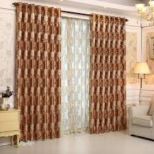 living room window treatments 2015. Contemporary 2015 2015 Luxury Europe Jacquard Thick Blackout Curtains For Living Room The  Bedroom Window Treatments Shades Panels Intended Y
