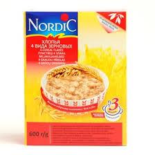 "<b>Хлопья</b> ""<b>Nordic</b>"" <b>4</b> злака 600г (2388349) - Купить по цене от ..."