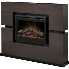dimplex linwood 65 inch electric fireplace mantel inner glow logs rift grey gds33 1310rg gas log guys
