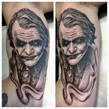 evil joker skull tattoo designs magnificent the joker batman joker makeup tattoos tattooartist realistic jpg 1936x1936