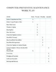 Excel Maintenance Stock Sheet Format Template 2 Computer Log Vapero Co