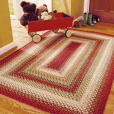 home interior the truth about braided rug 4 5 wool round country braid house from