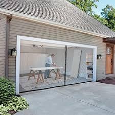 Garage Door Screen 8 ft x 7 ft Single Garage Amazoncom