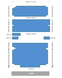 Ambassador Theatre Seating Chart New Ambassadors Theatre Seating Plan London Theatre Tickets