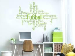 Fussball Wandtattoo Player Sport Poster Vinyl Decor Wand Wandtattoos
