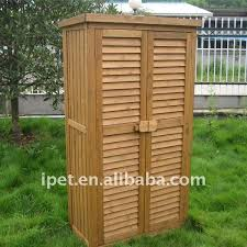endearing outdoor wood cabinet premium large wooden garden storage