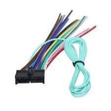 standard car audio & video wire harnesses for jensen ebay Jensen VM9214 Back of Stereo ny wire harness for jensen20 pin power plug cd player mp3 radio dvd stereo unit