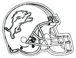 Football Helmet Coloring Page Coloring Pages Football Coloring Pages