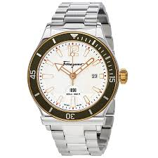 ferragamo 1898 white dial men s watch ff3150014 ferragamo ferragamo 1898 white dial men s watch ff3150014