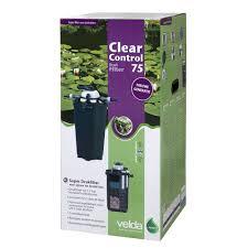 Velda Drukfilter Clear Control 75 Met Uv C Lamp 36 Watt