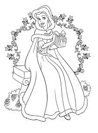Unique Disney Princess Holiday Coloring Pages Heart