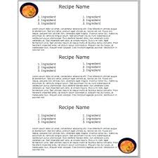 5 yummy cookbook templates free s for your diy recipe book template
