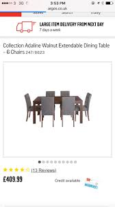 used dining table and 6 chairs 150 in cv9 atherstone for 150 00 shpock