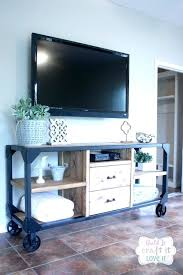 west elm tv stand metal media coaster stands and glass console industrial corner
